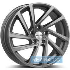 Купить Легковой диск GMP Italia WONDER Glossy Anthracite R17 W7 PCD5x112 ET45 DIA57.1