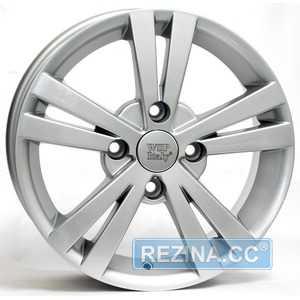 Купить WSP ITALY TRISTANO W3602 (SILVER - Серебро) R15 W6 PCD5x114.3 ET44 DIA56.6