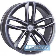 Купить WSP ITALY Audi Penelope W570 MATT GUN METAL POLISHED R20 W8.5 PCD5x112 ET33 DIA66.6