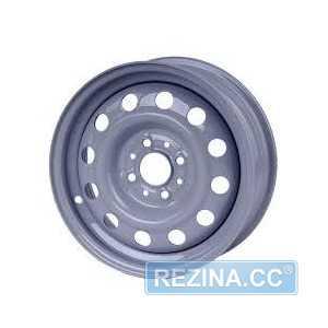 Купить КрКЗ ВАЗ 2110 серый R14 W5 PCD4x98 ET35 DIA58.5