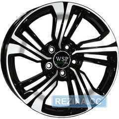 Купить WSP ITALY GREEN line G3903 (BLACK POLISHED) R17 W7 PCD5x114.3 ET45 DIA67.1
