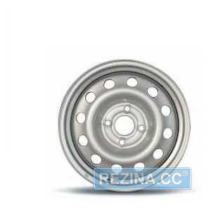 Купить Легковой диск SKOV STEEL WHEELS Deawoo Lanos Sens \ Opel Astra, Kadett, Combo Серебристый металлик R14 W5.5 PCD4x100 ET49 DIA56.6