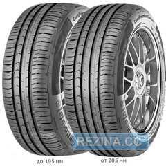 Купить Летняя шина CONTINENTAL ContiPremiumContact 5 195/55R16 91H