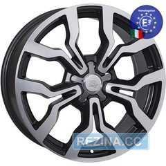 WSP ITALY MEDEA W565 DULL BLACK POLISHED - rezina.cc