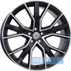 Купить Легковой диск WSP ITALY W571 ALICUDI GLOSSY BLACK POLISHED R20 W8.5 PCD5x112 ET43 DIA66.6