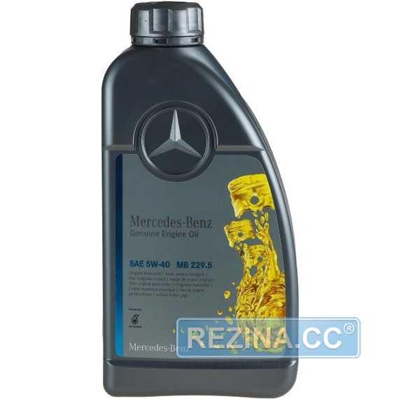 Моторное масло MERCEDES-BENZ Genuine Engine Oil MB 229.5 - rezina.cc