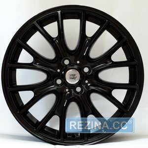 Купить WSP ITALY RIVERS W1653 GLOSSY BLACK R18 W7 PCD4x100 ET52 DIA56.1