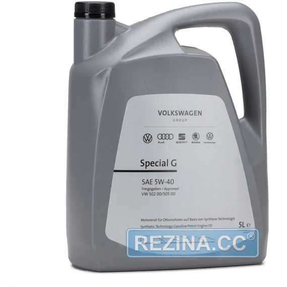 Моторное масло VAG VW Special G SAE 5W-40 - rezina.cc