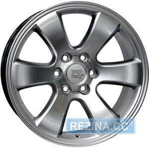 Купить WSP ITALY W1707 YOKOHAMA PRADO HYPER SILVER R20 W9.5 PCD6x139.7 ET30 DIA106.1