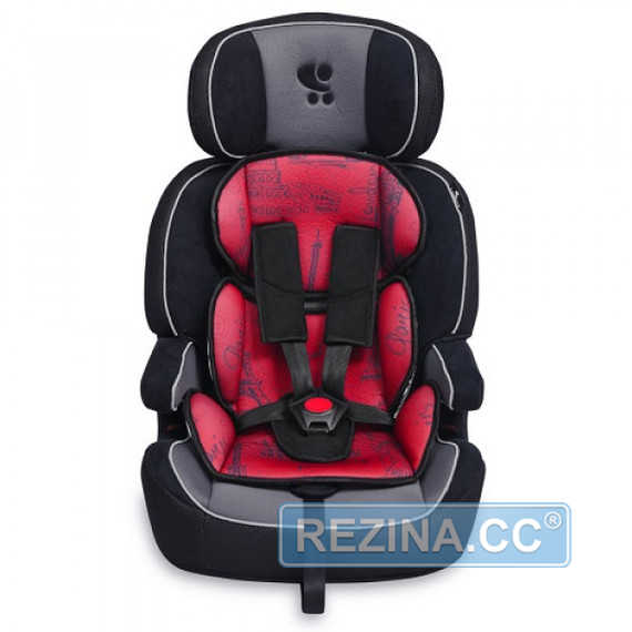 Купить Автокресло LORELLI (BERTONI) Navigator black/red cities