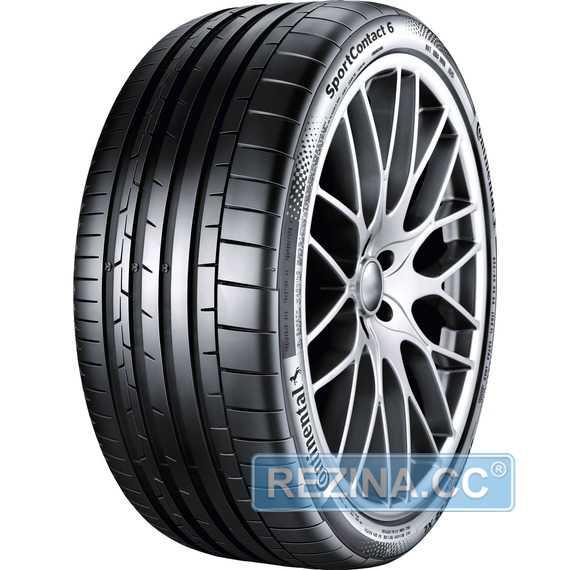Купить Летняя шина CONTINENTAL SportContact 6 275/45R21 110Y