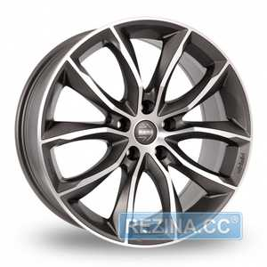 Купить MOMO SCREAMJET EVO MATT ANTHRACITE POLISHED R17 W8 PCD5x112 ET45 DIA79.6