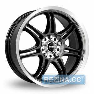 Купить MOMO RPM EVO BLACK GLOSSY POLISHED R17 W7.5 PCD5x112 ET48 DIA72.3