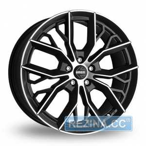 Купить MOMO MASSIMO BLACK MATT POLISHED R17 W7.5 PCD5x114.3 ET40 DIA72.3
