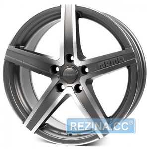 Купить Легковой диск MOMO Hyperstar Evo Anthracite Matt Polished R17 W7.5 PCD5x114.3 ET48 DIA72.3