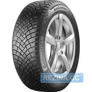Купить Зимняя шина CONTINENTAL IceContact 3 255/55R18 109T (Под шип)