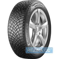 Купить Зимняя шина CONTINENTAL IceContact 3 215/45R17 91T (Под шип)