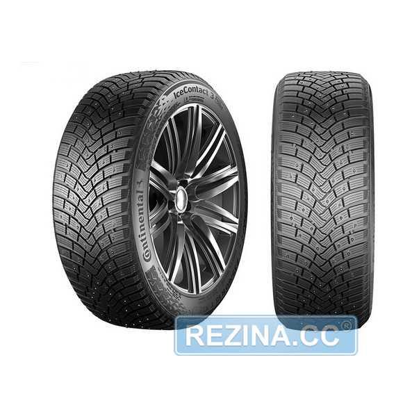 Купить Зимняя шина CONTINENTAL IceContact 3 255/40R19 100T (Под шип)
