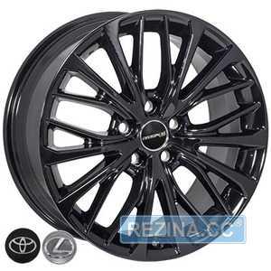 Купить Легковой диск ZF TL1515 BLACK R18 W8 PCD5x114.3 ET50 DIA60.1