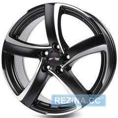 Легковой диск ALUTEC Shark Racing black front polished - rezina.cc