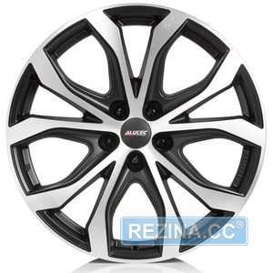 Купить Легковой диск ALUTEC W10X Racing Black Front Polished R18 W8 PCD5x112 ET25 DIA66.5