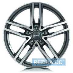 Купить Легковой диск ALUTEC Ikenu Graphite Front Polished R16 W6.5 PCD5x112 ET41 DIA57.1