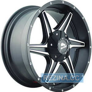 Купить BUFFALO BW-011 Satin-Black Machined R20 W9 PCD5x150 ET38 DIA110.1