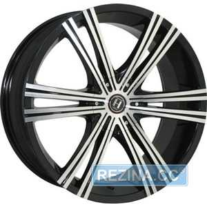 Купить HARP Y-28 Glossy-Black Machined-Face R20 W8.5 PCD5x114.3 ET40 DIA74.1