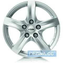 Купить Легковой диск RIAL Arktis Polar Silver R17 W7.5 PCD5x114.3 ET40 DIA70.1