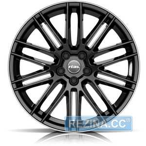 Купить RIAL Kibo Diamond B​lack Lip Polished R18 W8 PCD5x114.3 ET38 DIA70.1