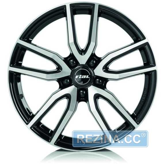 Купить Легковой диск RIAL Torino Diamond Black Front Polished R16 W6.5 PCD5x108 ET50 DIA63.4