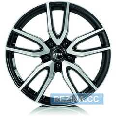 Купить Легковой диск RIAL Torino Diamond Black Front Polished R17 W7.5 PCD5x108 ET48 DIA70.1