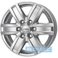 Купить RIAL Transporter Polar Silver R16 W6.5 PCD6x139.7 ET56 DIA92.4