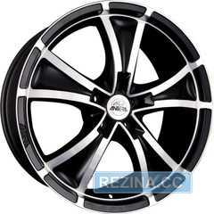 Купить ANTERA 383 Matt Black Diamond Cut R19 W9.5 PCD5x112 ET30 DIA75