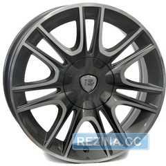 Купить Легковой диск WSP ITALY RIGA W317 ANTHRACITE POLISHED R16 W6.5 PCD4x98 ET40 DIA58.1