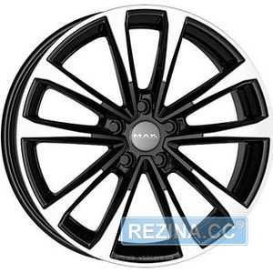 Купить Легковой диск MAK Main Black Mirror R18 W8 PCD5x112 ET41 DIA57.1