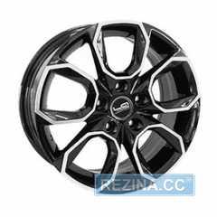 Купить Легковой диск Replica LegeArtis SK516 BKF R17 W7 PCD5X112 ET45 DIA57.1