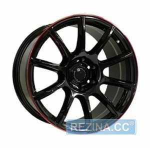 Купить Off Road Wheels OW1012 GLOSSY BLACK RED LINE RIVA RED R20 W8.5 PCD6x139.7 ET10 DIA110.5