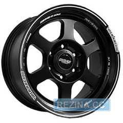 Купить Off Road Wheels OW6025 MATT BLACK WITH LIP LINE R17 W8 PCD6x139.7 ET0.00 DIA110