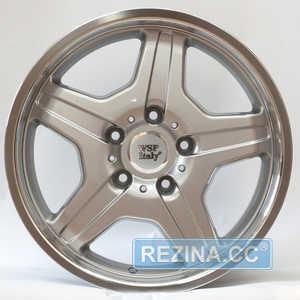 Купить WSP ITALY MATERA W760 SILVER POLISHED LIP R18 W9.5 PCD5x130 ET50 DIA84.1