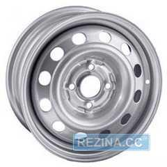 Купить Легковой диск STEEL TREBL 64G35L SILVER R15 W6 PCD5X139.7 ET35 DIA98.6