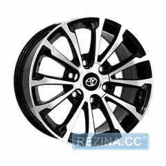 Купить Легковой диск REPLICA TY1353 BKF R17 W7.5 PCD6X139.7 ET30 DIA106.1