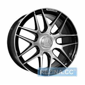 Купить Легковой диск Replica LegeArtis MR251 BKF R20 W9.5 PCD5X112 ET39 DIA66.6
