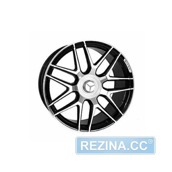 Купить Легковой диск Replica LegeArtis MR555 BKF R20 W9.5 PCD5X112 ET39 DIA66.6