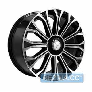 Купить Легковой диск REPLICA FORGED MR893 BKF R20 W9.5 PCD5X112 ET43.5 DIA66.6