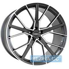 Купить REPLICA FORGED A970 MATTE-GRAPHITE-WITH-MACHINED-F​ACE FORGED R22 W10 PCD5x112 ET21 DIA66.5