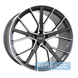 Купить REPLICA FORGED A970 MATTE-GRAPHITE-WITH-MACHINED-F​ACE FORGED R22 W10 PCD5x112 ET26 DIA66.5