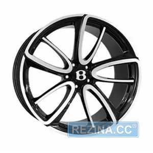Купить REPLICA FORGED BN1040L GLOSS-BLACK-WITH-MATTE-POLI​SHED FORGED R21 W9.5 PCD5x112 ET41 DIA57.1