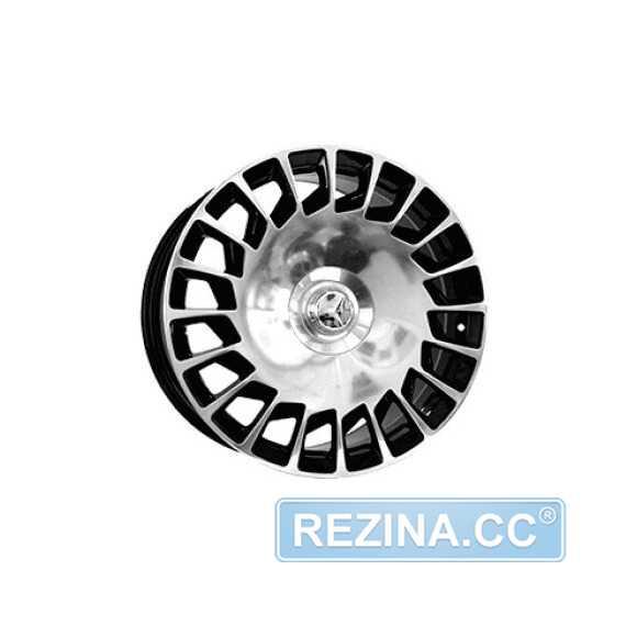 Купить Легковой диск REPLICA MR990/1 BKF R18 W8 PCD5x112 ET35 DIA66.6