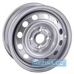Купить STEEL TREBL 8690T Silver R15 W6 PCD4x108 ET27 DIA65.1